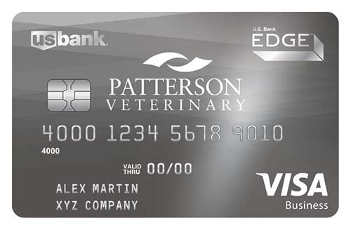 Veterinary credit cards patterson veterinary patterson business edge rewards visa card reheart Choice Image